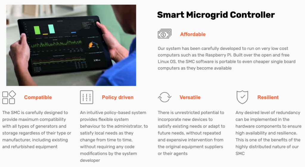 Click to learn more about Smarter Microgrids!